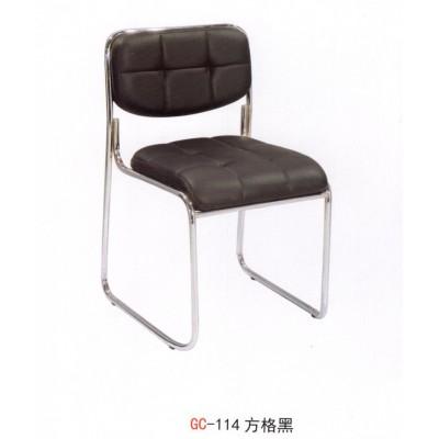 办公椅 方格黑