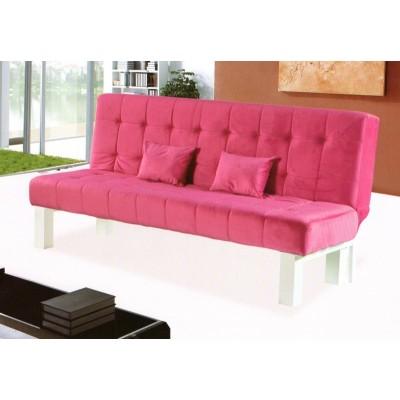 折叠沙发床  红色