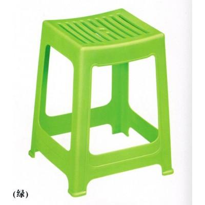 塑料凳子  绿