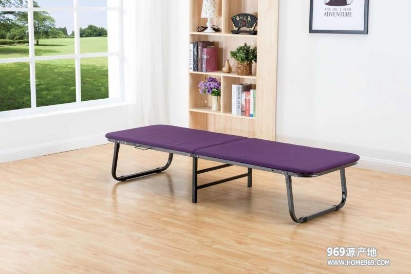 两折海绵木板床