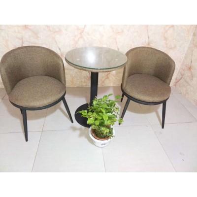 围椅 咖啡布