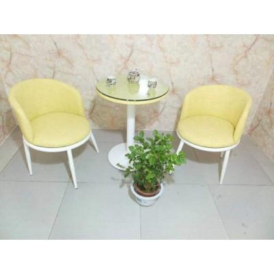 围椅  黄色