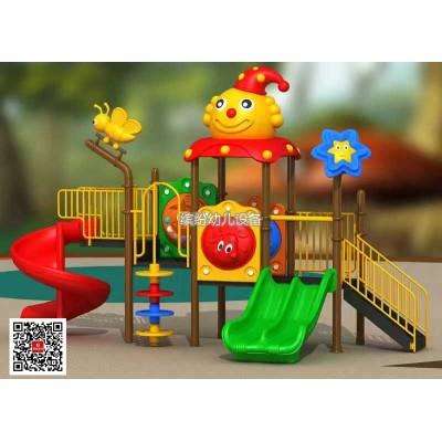 中小管滑梯系列—滑滑梯秋千组合儿童室内家用幼儿园宝宝游乐场