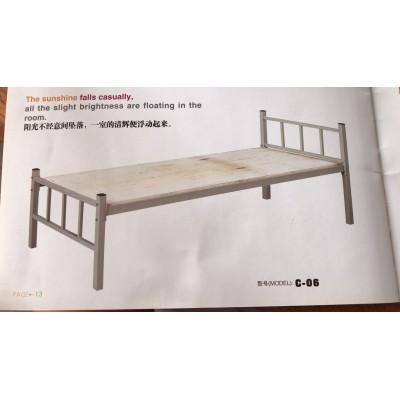 厂家直销学生公寓床校用铁上下铺双层床高低床员工宿舍寝室铁床