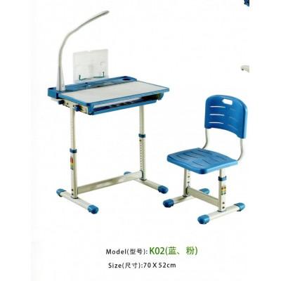 儿童学习桌椅套装儿童书桌书柜组合男孩女孩写字桌台小学生课桌椅