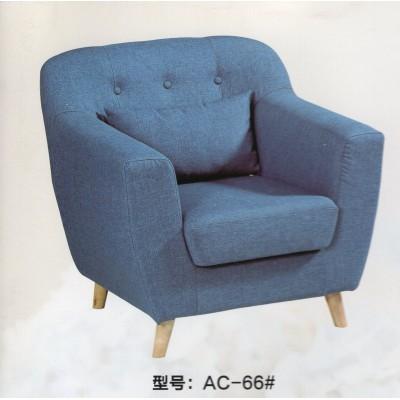 简约北欧 布艺沙发单人可拆洗 三人双人棉麻小户型客厅专柜