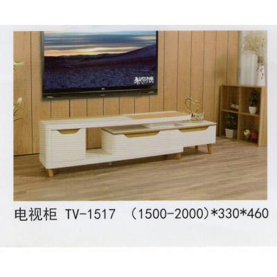 现代简约北欧实木红白橡木客厅伸缩小户型电视柜储物地柜