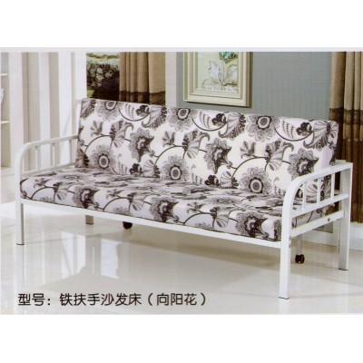 田园简约卧室沙发床客厅家居公主铁艺床单人双人儿童铁艺床床架