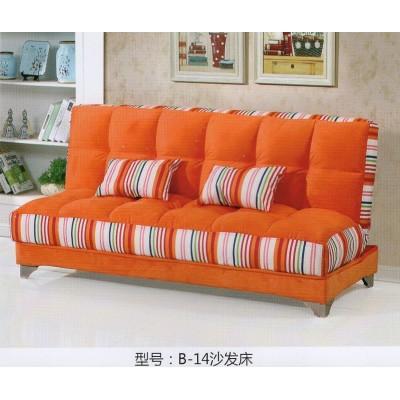 小户型客厅可折叠沙发床双人多功能两用简易客厅布艺沙发省空间