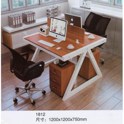 办公用组合卡位木桌房间别墅电脑桌高腿咖啡店椅子办公室操作台