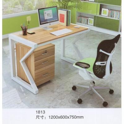 大班台环保挡板实用电脑椅转角一桌电脑桌组合工位桌二人写字转角