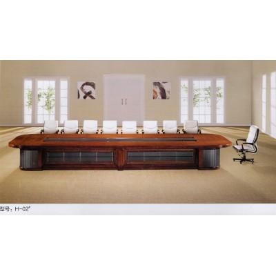 高档豪华会议桌油漆会议桌实木会议桌班台洽谈桌
