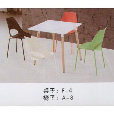 北欧简约时尚休闲桌餐桌小圆桌现代简约洽谈桌咖啡桌伊姆斯桌椅组
