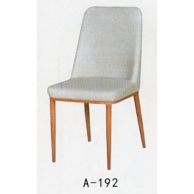 餐椅休闲简约现代椅时尚家用酒店客厅餐厅椅子欧式软包皮革靠背椅