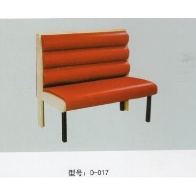 餐厅沙发卡座 奶茶店 西餐厅不锈钢腿架卡座沙发甜品店餐桌椅组