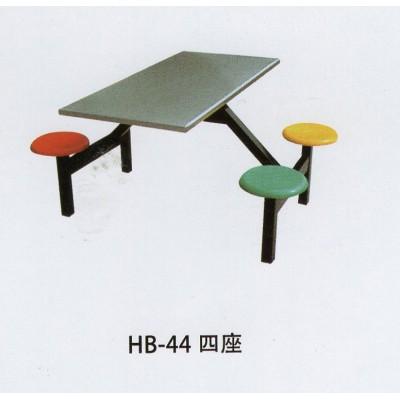 玻璃钢餐台餐桌餐厅桌椅组合学生折叠桌椅户外防晒餐桌吃饭桌连体