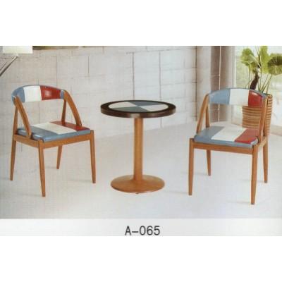 简约现代餐桌椅现代小户型家用饭桌 餐桌简易咖啡桌 阳台圆桌