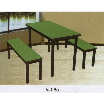 北欧实木餐桌椅组合现代简约长方形小户型家用饭桌客厅木椅子长凳