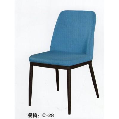 简约实木餐椅奶茶店咖啡厅餐桌椅北欧靠背椅家用休闲椅布艺餐椅子