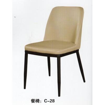 北欧餐椅现代简约家用书桌椅子靠背创意餐厅凳子仿实木布艺咖啡椅