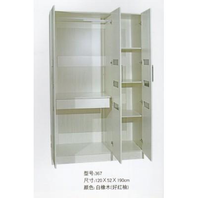 简易儿童衣柜单人小衣柜实木质两门三门衣柜阳台收纳柜经济型衣柜