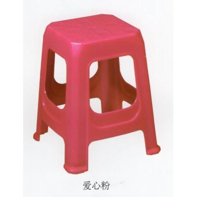 凳子塑料凳子加厚家用休闲椅餐桌凳子浴室凳换鞋凳成人高凳