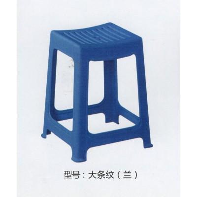时尚彩色塑料凳子便携家用餐桌方凳 方高凳防滑凳