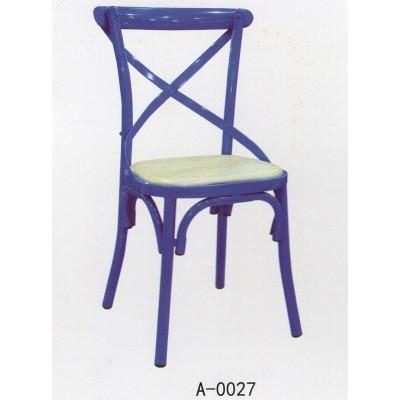 地中海风格餐椅 咖啡厅奶茶甜品店酒吧餐厅椅 大师设计叉背椅子