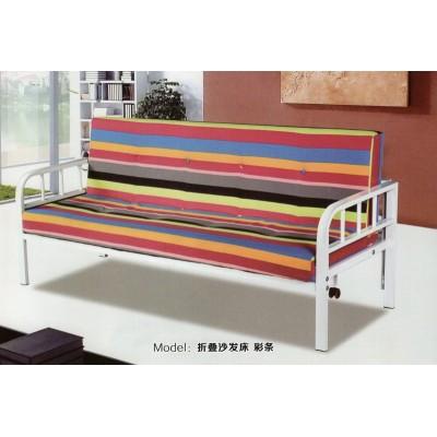 简约布艺宜居简易多功能两用小户型可折叠懒人沙发床