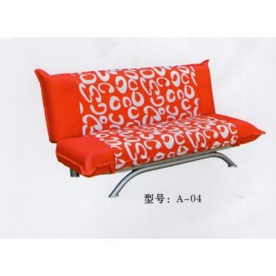 沙发床 小户型可折叠实木布艺沙发单人双人三人沙发