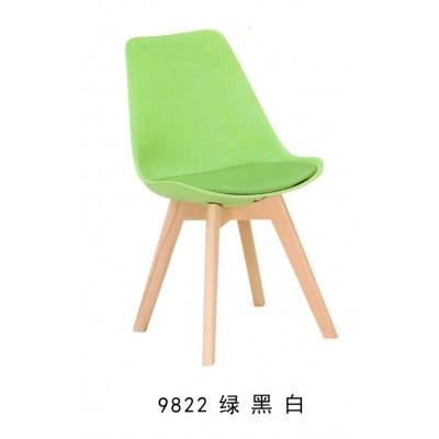 伊姆斯椅实木餐椅现代简约休闲北欧家用靠背书桌椅咖啡厅洽谈椅子