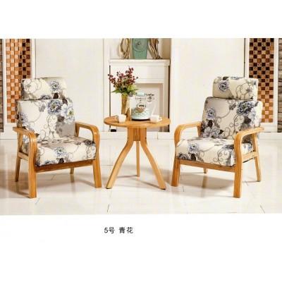 北欧沙发椅实木餐椅欧式休闲椅布艺现代简约餐厅椅靠背书桌椅