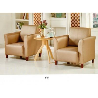美式小户型单人沙发椅客厅卧室 阳台桌椅三件套简约休闲布艺沙发