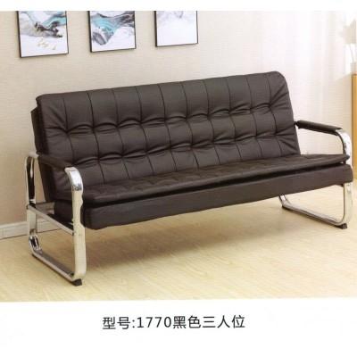 办公沙发简约会客接待商务三人位沙发办公室家具时尚沙发茶几组合