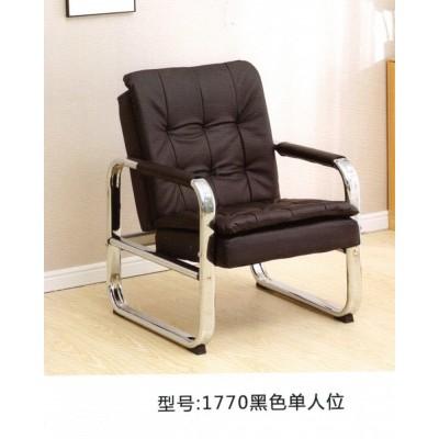 简易办公会客沙发简约现代商务会客接待办公室沙发