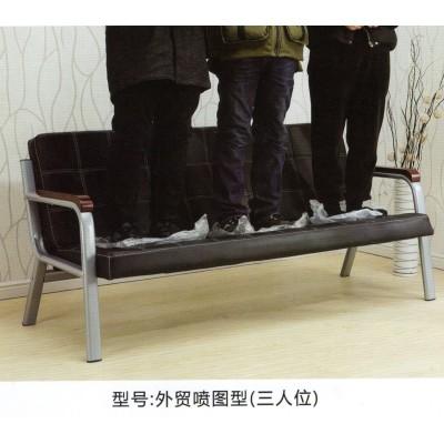 不锈钢三人位排椅机场椅排椅系列发廊等候椅输液椅长椅美发店沙发