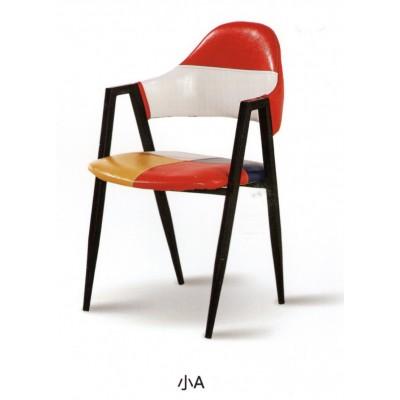 铁艺主题餐厅奶茶店甜品店咖啡厅西餐厅简约现代小吃快餐椅