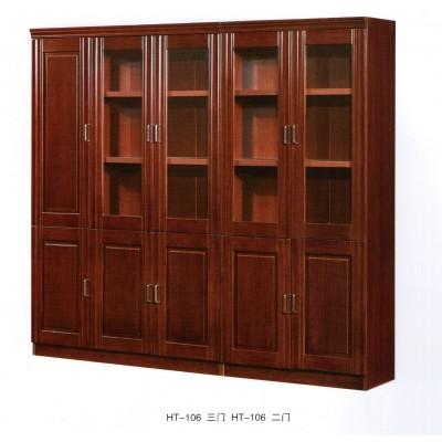 办公家具文件柜木质办公室书柜油漆贴实木皮资料柜落地柜档案
