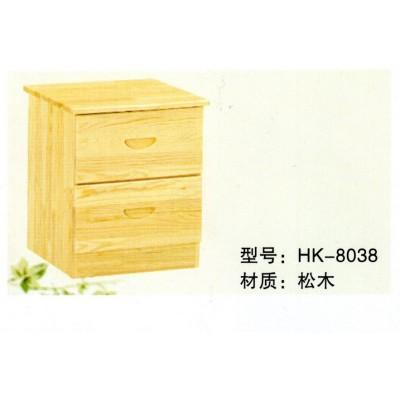 松木小床头桌柜小床头桌柜/柜子储物柜实木床头柜