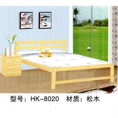 实木床单人床木板床成人床  实木 经济型 简约现代 成人