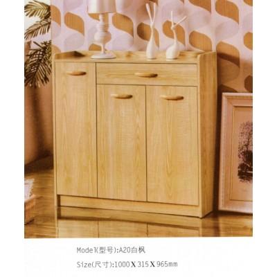 现代简约实木色鞋柜多功能穿鞋柜多层门厅柜大容量玄关收纳储物柜