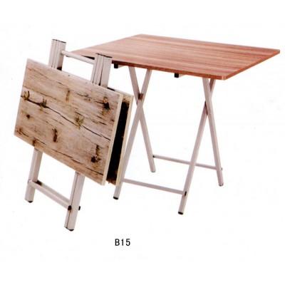 家用折叠桌餐桌木头折迭桌木质正方形可折叠小桌子家庭吃饭矮小型