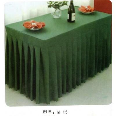 酒店餐厅纯色长方形桌布饭店餐桌白色茶几布圆形会议桌裙黑色台布