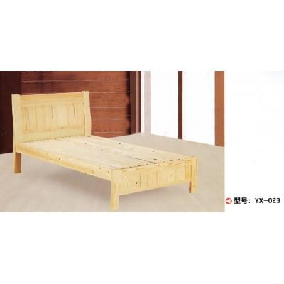 松木床实木床高箱储物床抽屉床硬板床双人床单人床