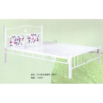 双人床 单人床 加厚铁艺床 铁床床架席梦思床