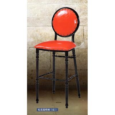 复古欧式家用凳靠背凳客餐厅创意时尚美容简圆凳梳化妆凳美甲