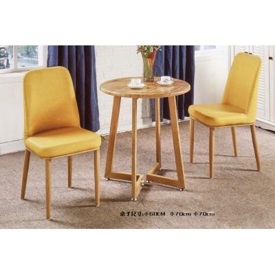 现代简约休闲椅洽谈实木书桌椅咖啡厅酒店阳台北欧椅子餐厅餐椅