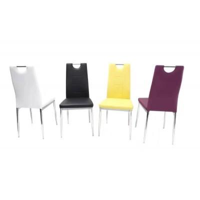 北欧餐椅简约现代餐厅靠背懒人椅子组合小清新彩色布艺皮革