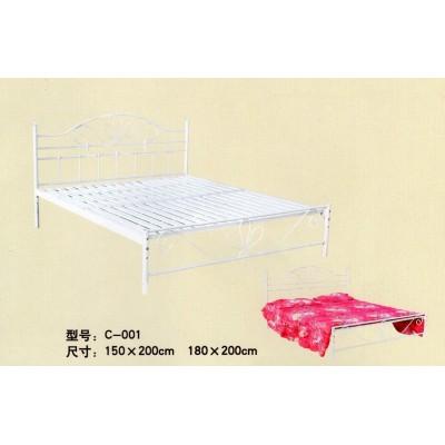 床单人铁床午休折叠床家用简易床床人成床米双人床钢丝小户型
