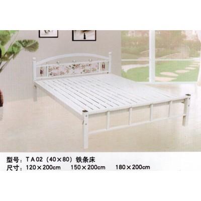 午休床单人床铁艺简易家用折叠加固床办公室欧式双人床